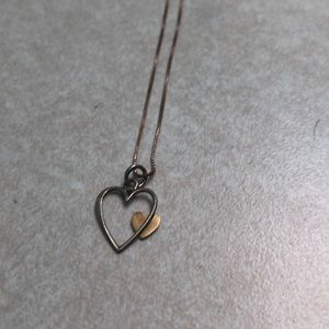 Heart Necklace NWOT